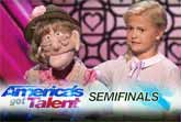 12-Year-Old Ventriloquist 'Like A Natural Woman' America's Got Talent