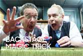 Backstage Magic Trick by Penn and Teller