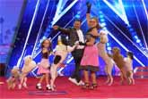 Pompeyo Family Dogs Entertain At America's Got Talent 2017