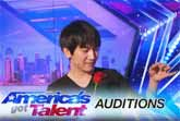 Will Tsai's Amazing Visual Magic - America�s Got Talent 2017